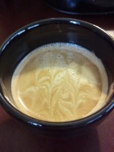1oz Godiva White Chocolate Liqueur in an Espresso Shot