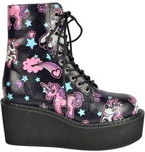 pastel goth boot via buzzfeed