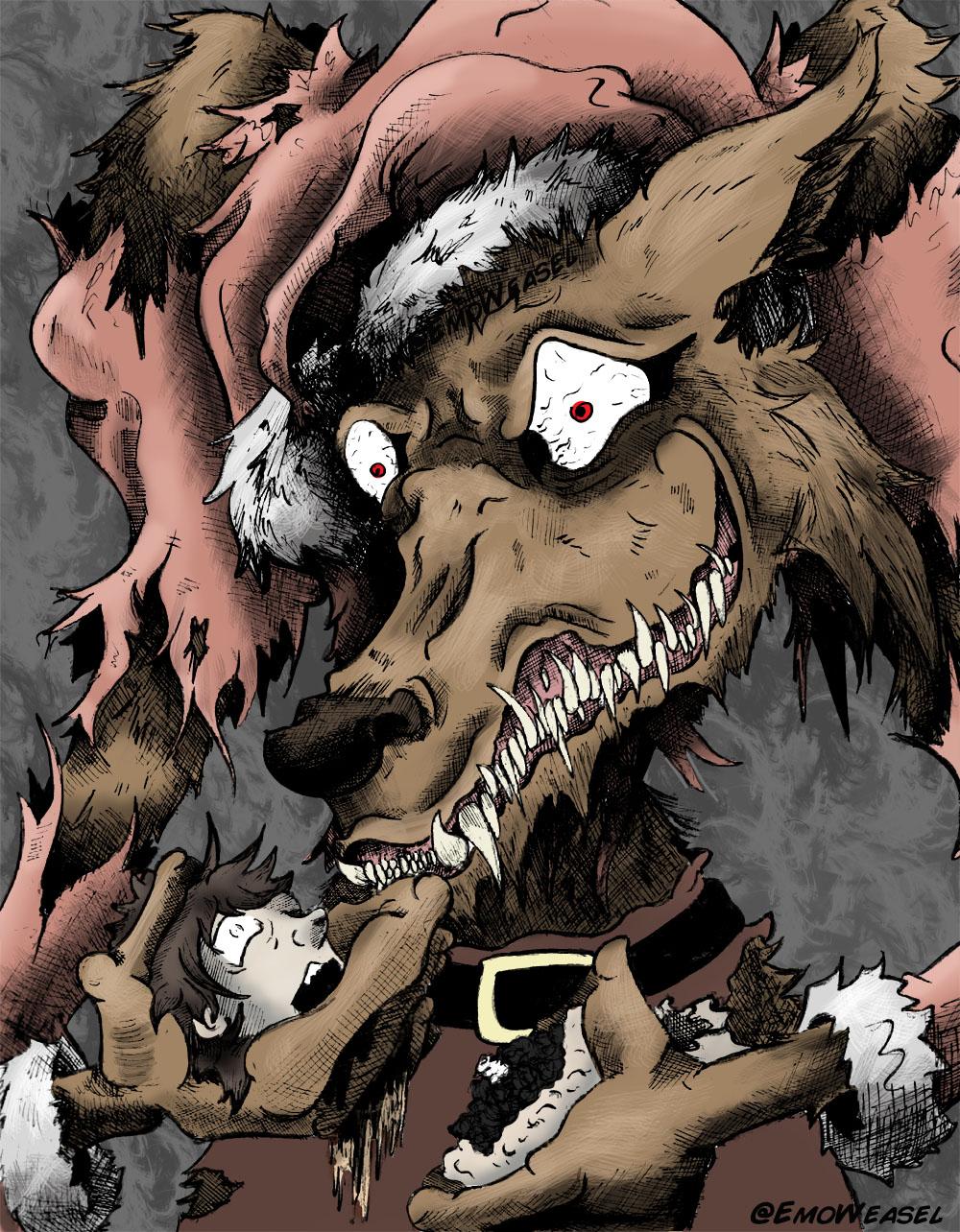werewolf santa color(mini water mark)