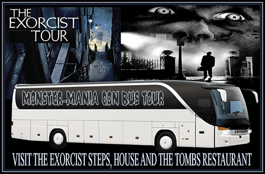 Monster-Mania Con The Exorcist Tour logo
